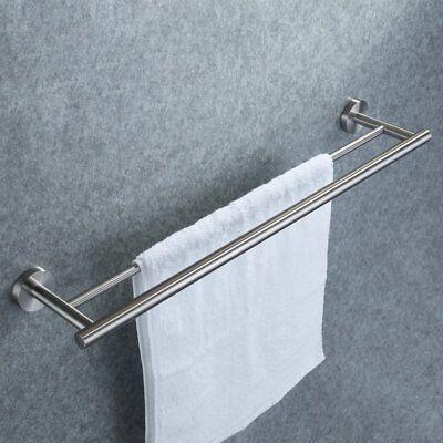 KES 24-Inch Double Towel Bar Bathroom Shower Organization Ba