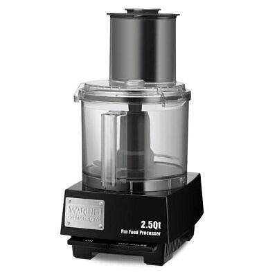 Waring Wfp11s 1 Speed Batchbowl Food Processor W 2 12 Qt Bowl 120v