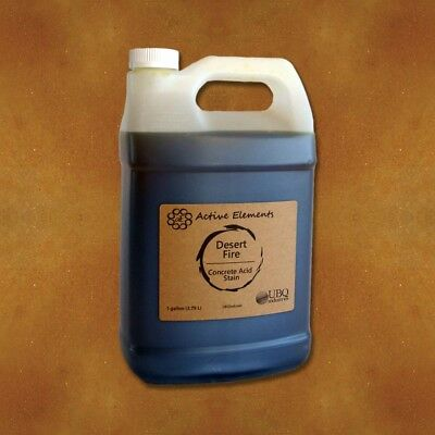 Official Acid Stain - 1 Gallon - Desert Fire - Red Brown Terra Cotta