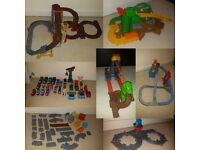 Thomas & Friends collection - 7 Sets, 20+ trains, tracks