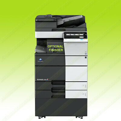 Konica Minolta Bizhub C458 Laser Color Bw Printer Scanner Copier 45ppm A3 Mfp