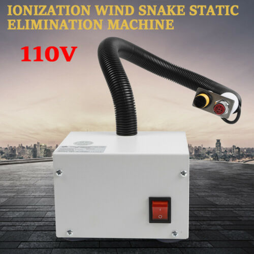 New Infrared Sensor Ion Wind Blower Fan Air Static Eliminator Dust Cleaning  M