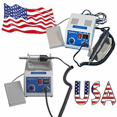 Dental Lab Marathon Micro Motor Polisher Machine 35k Rpm Handpiece 2 Types N3