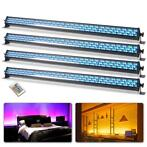 BeamZ Wallwash Set van 4 LCB252 RGB LED Bars