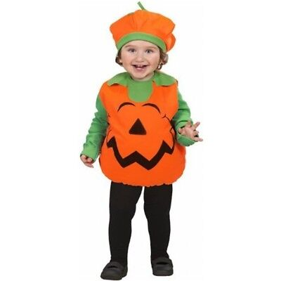 Pumpkin Costume For Halloween Fancy Dress - Childrens Unisex 104cm Puffy Vest - Puffy Dresses For Halloween