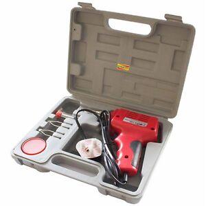 Soldering Gun Solder Iron Set 100W 100 Watt & Case 3 Tips Solder And Flux Kit