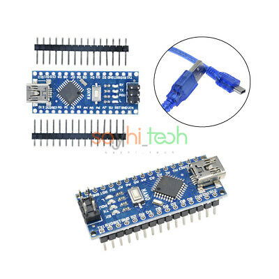 Mini Usb Nano V3.0 Atmega328 5v 16m Micro-controller Ch340 Diy Kit For Arduino