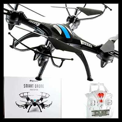 Quadcopter Drone Ancient Control For 12+ Kids Adults & Flying Beginners. A Perfec