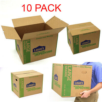 Pack Of 10 Large Cardboard Boxes 24 X 18 Moving Shipping Packing Storage Mail