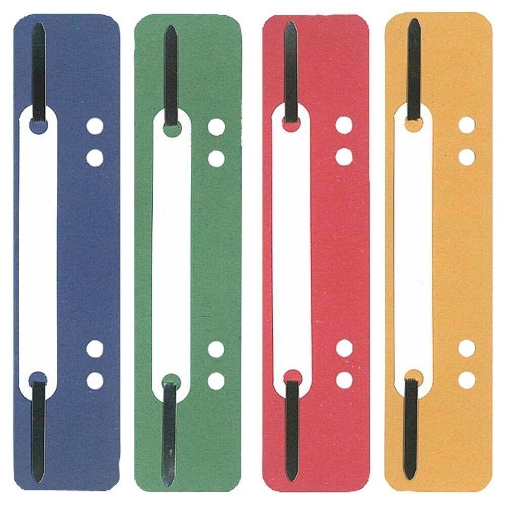 Heftstreifen Abheftstreifen Dulli 100 Stück Farbe sortiert kurz Recycling Karton