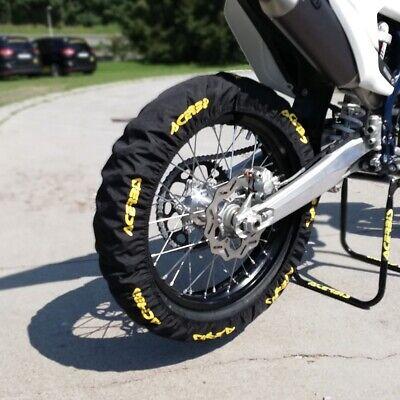 Acerbis Universal MX Motocross Tyre Cover - Black/Yellow