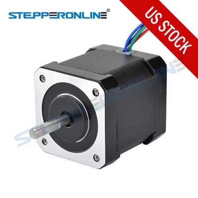 Nema 17 Stepper Motor 84oz.in59ncm 48mm 2a 12v Cnc3d Printer Reprap Robot