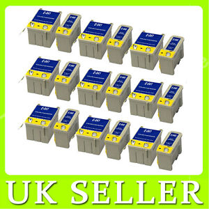 18 Compatible Ink Cartridge For Epson Stylus C62 CX3200 printer