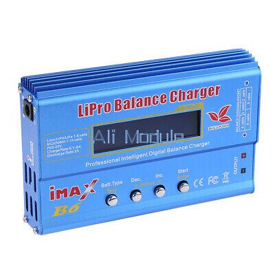 iMAX B6 LCD Screen Digital RC Lipo NiMh Battery Balance Charger Power Adapter