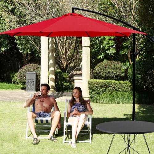 Patio Umbrella Offset Hanging Umbrella 10FT Aluminum Outdoor