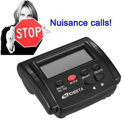 CT-CID803 Caller ID Box Landline Fixed Phones Calls Blocker Stop Nuisance O4L9