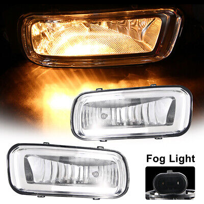 2Pcs Front Left & Right Fog Lights Lamps For 2004-2006 Ford F-150, # 5L3Z15200A