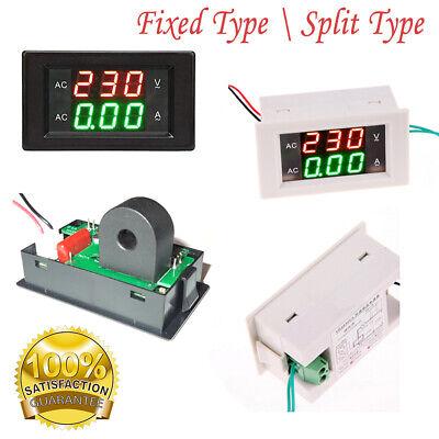 Digital Led 500v Voltmeter 10a -500a Ammeter Panel Mount Volt Amp Meter
