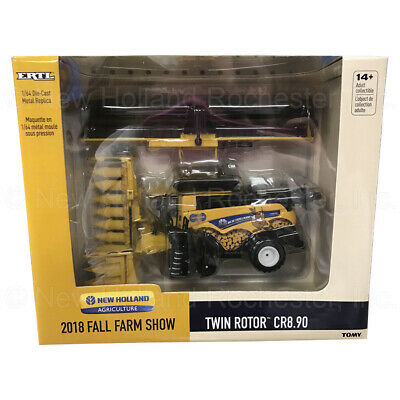 New Holland Cr8.90 2018 Fall Farm Show 164 Scale Toy Combine Part Ert13940otp