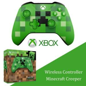NEW Xbox Wireless Controller - Minecraft Creeper - Xbox One Minecraft Creeper Edition Condtion: New, Minecraft Creeper