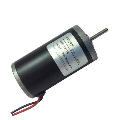 Micro Pmdc Motor 12vdc 8000rpm Brush Diameter 31mm Tiny Motor Trs-495sm