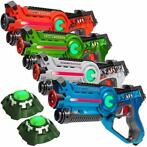Light Battle Active Lasergame set - 4 laserguns + 2 Targets