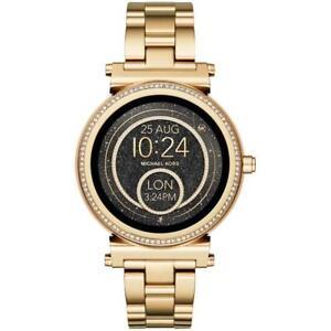 0d4ebf310 Michael Kors Sofie Pav  Smartwatch - Gold for sale online | eBay
