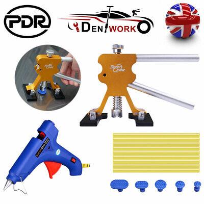 UK PDR Dent Puller Lifter Glue Gun Car Body Paintless Dent Removal Repair Kit