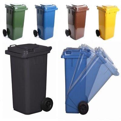 Mülltonne Müllbehälter 120L 240L mit Deckel Abfallbehälter Abfalltonne wählbar