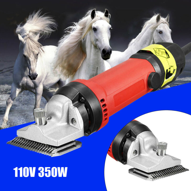 350W Electric Pet Dog Sheep Horse Animal Hair Clipper Shearing Trimmer 6-Speed