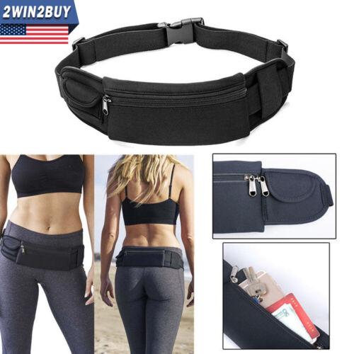 Waterproof Sport Zip Waist Belt Bum Bag Pouch Running Fanny