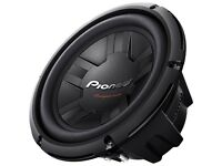 Pioneer 10 Inch 350W RMS 1200W DVC 4 Ohms Car Subwoofer Bass Speaker