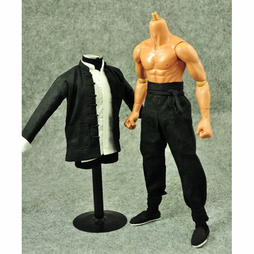 1//6 Scale Male Kung Fu Clothing Suit Set Fit 12/'/' Action Figure Body Model