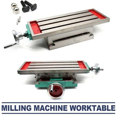 Milling Machine Compound Work Table Cross Slide Bench Drill Vise Fixture 450170