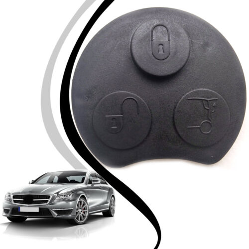3 Button Remote Key Fob Case Shell Replace for SMART Fortwo Mercedes Benz New