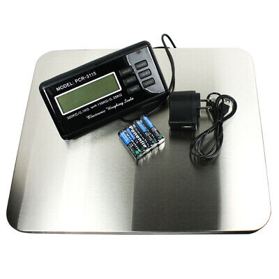 660 Lbs X 0.1lb Digital Floor Bench Scale Steel Platform For Shipping Postal Pet