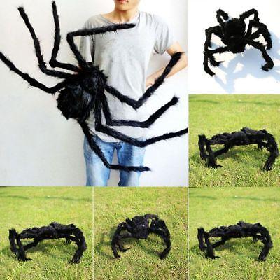 Kostüm Schwarze Spinne Spukhaus Prop Streich-Spielzeug Halloween - Spukhaus Halloween Dekoration