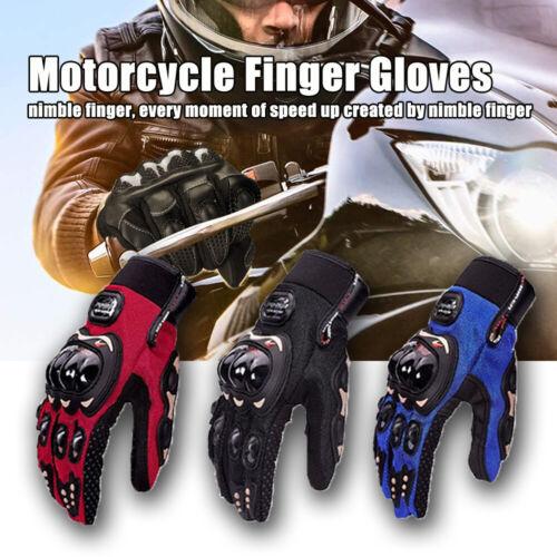 BIKER Motorcycle Motorbike Racing Riding ATV Shockproof Full Finger Gloves US Apparel, Protective Gear & Merchandise