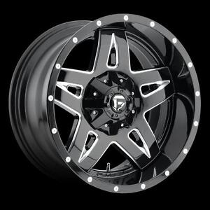 "$899 (Tax-In)- NEW Authentic 18""FUEL FULL BLOWN(5x135/5x139/8x170)-RAM 1500/ 5 Lug Ford F150/ Ford F250/ F350/ Excursion"