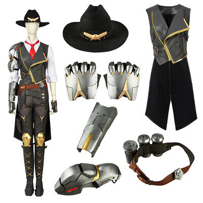 Overwatch Ashe Damage Game Cosplay Costume Game Suit Women Halloween accessories - Price Costume