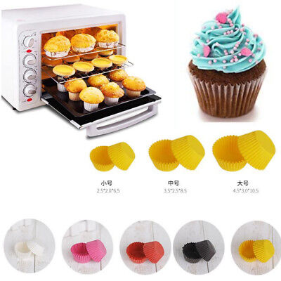 Cupcake Liners Wedding (500Pcs Paper Cupcake Liners Cake Cup Baking Wedding Muffin Cases Cake)