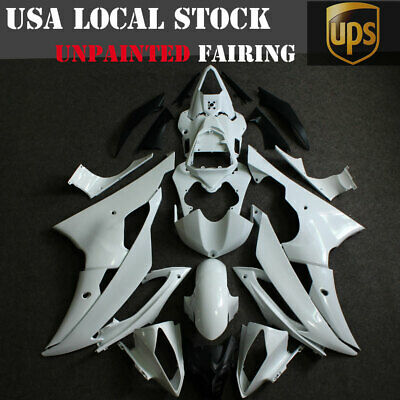 Fairing Kit For Yamaha YZF R6 2008-2016 09 10 11 12 Unpainted ABS Injection Body