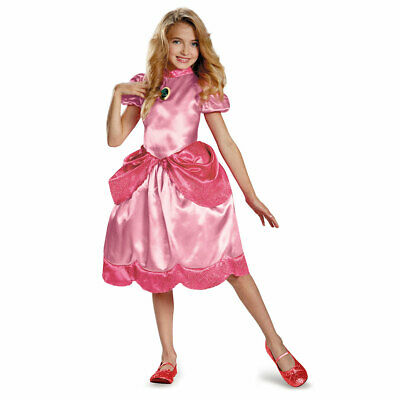 Girls Princess Peach Classic Halloween Costume - Peach Halloween