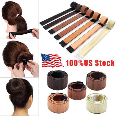 Hair Bun Twist Maker Donut Styling Braid Women Magic Accessory Tools Convenient (Hair Donut)