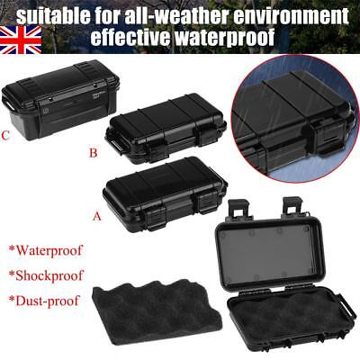 Shockproof Camping Hiking Survival Box Storage Case Emergency Gear Tools Outdoor