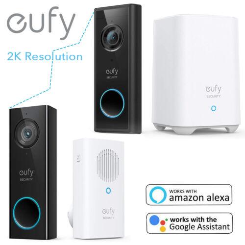 eufy Security 2K Wi-Fi Video Doorbell Smart Door Ring Intercom Wireless Camera