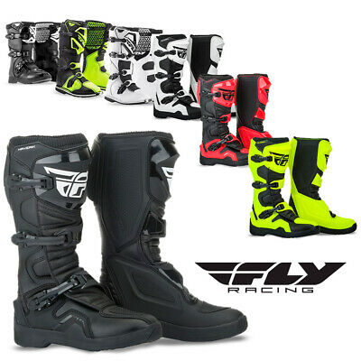Fly Racing Maverik Motocross Boots Dirt Bike ATV Enduro Motorcycle Off-Road MX Road Race Motorcycle