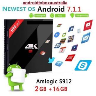 2018 2GB/16GB H96 PRO Android 7.1 TV Box S912 Bluetooth kodi wifi