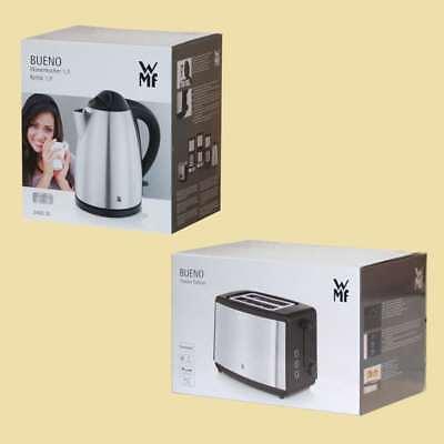 WMF Set Bueno - Wasserkocher + Toaster - Edelstahl/schwarz