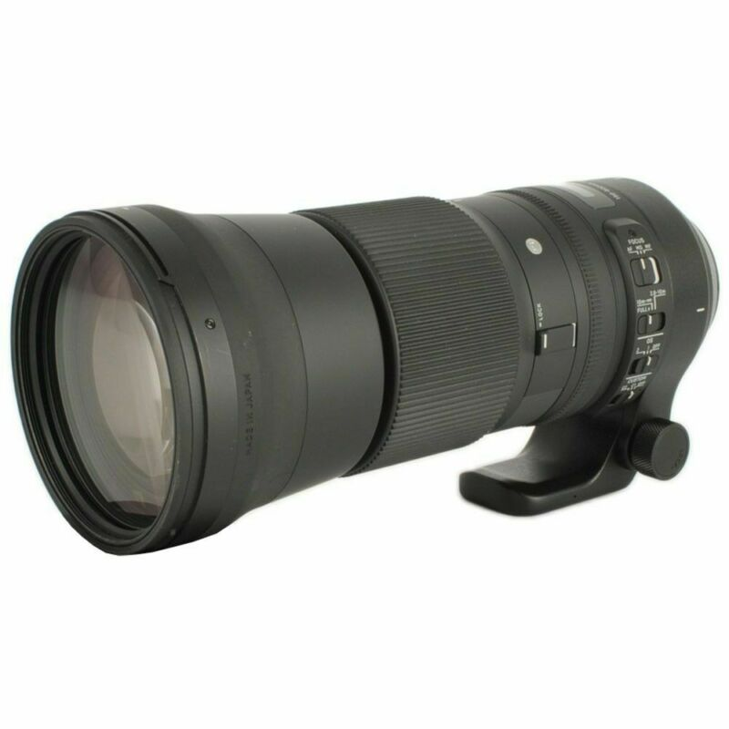 Sigma 150-600mm f/5-6.3 Sports DG OS HSM Contemporary Hyper-Telephoto Lens for Most Nikon SLR Cameras Black 745306